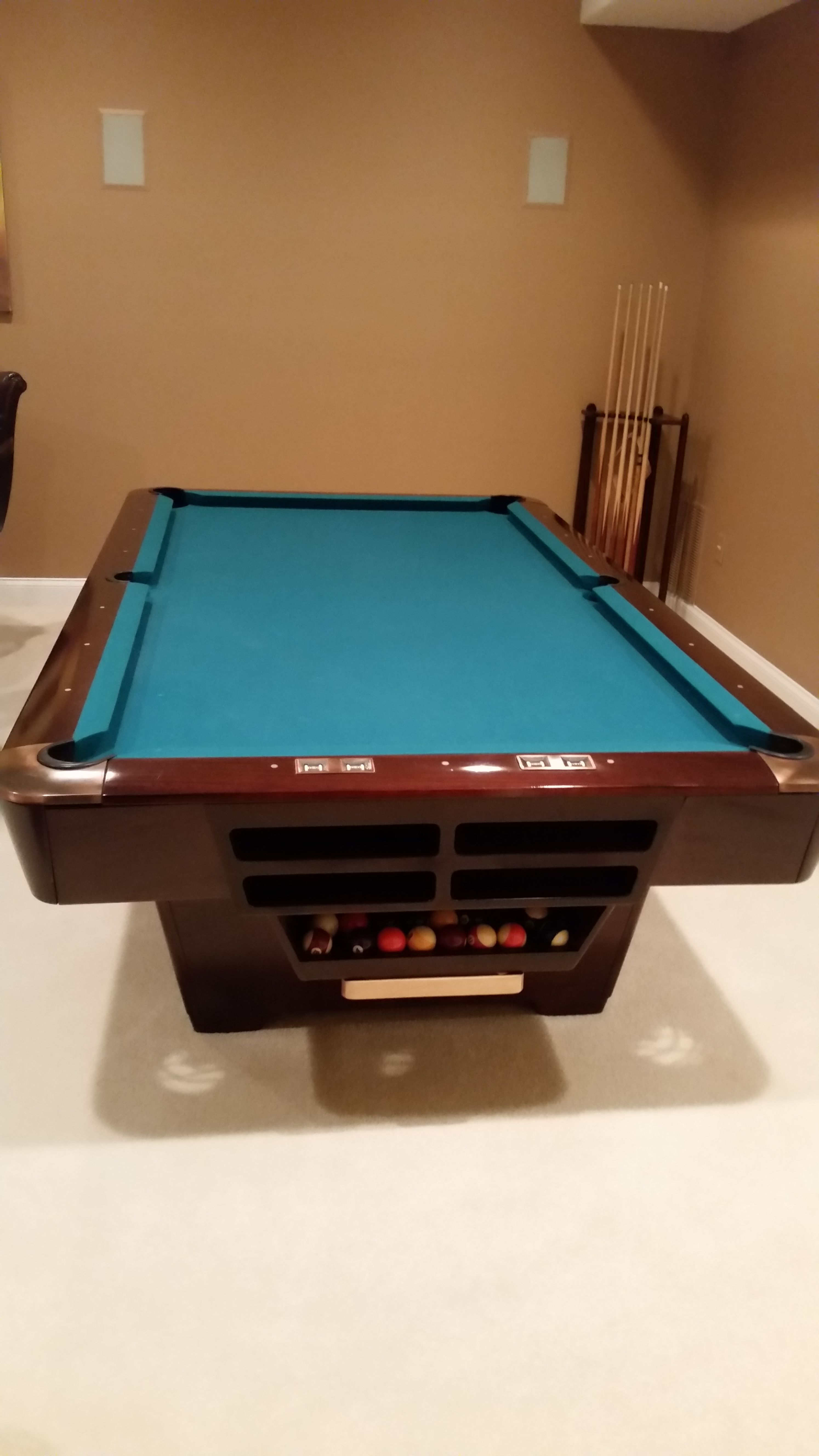 Brunswick Billiards Medalist Pool Table Pro Sold Used Pool - Brunswick richmond pool table