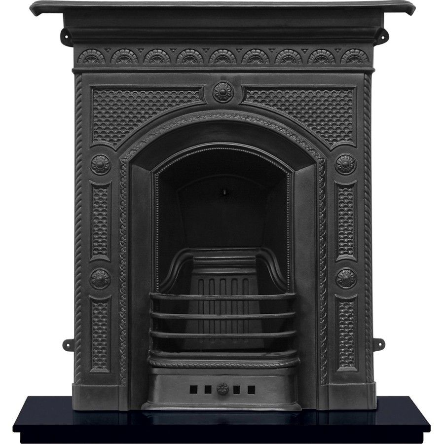 Hawthorne Cast Iron Fireplace Cast Iron Fireplaces 469
