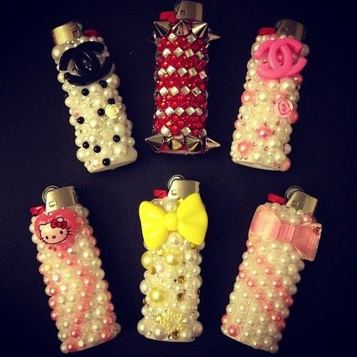 pearl lighters :-) omg I like these. Not practicle for everyday use but