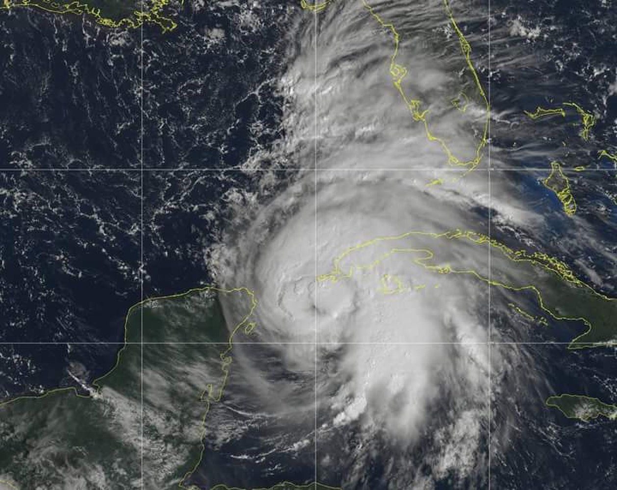 Hurricane Michael is predicted to hit Florida as a major storm on Wednesday afternoon.