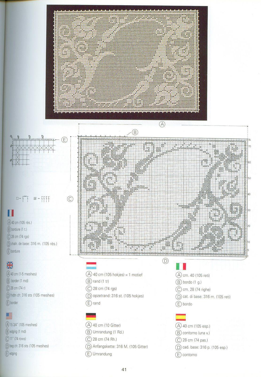 Libro único en tejer una serie de DMC. Creaciones Crochet D\'or ...