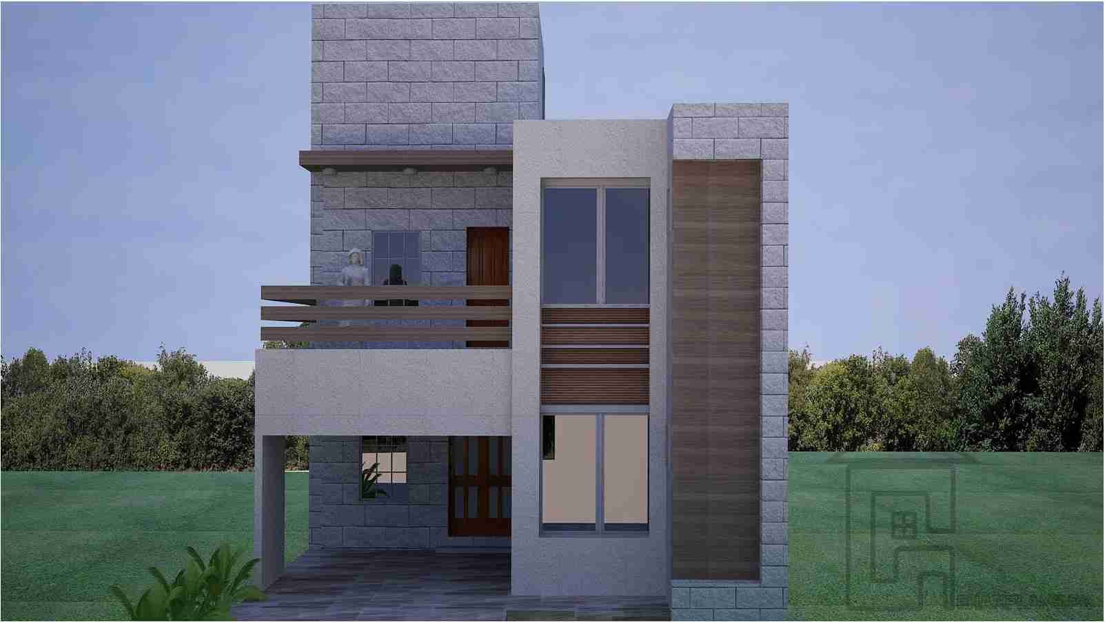 Front Design Of 5 Marla House Part - 33: House · This Is A Standard 5 Marla House Front Design ...
