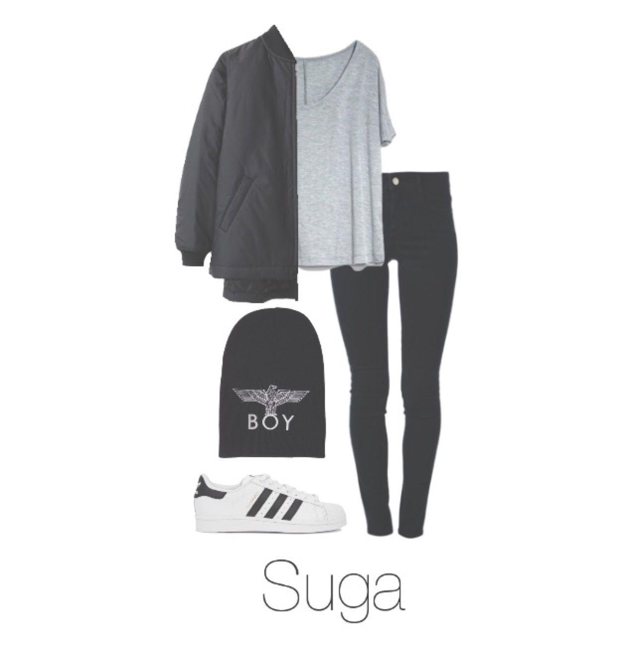 BTS Suga/Yoongi ** @BTSOufits   BTS outfits   Pinterest   Tenue Tenues et Vu00eatements