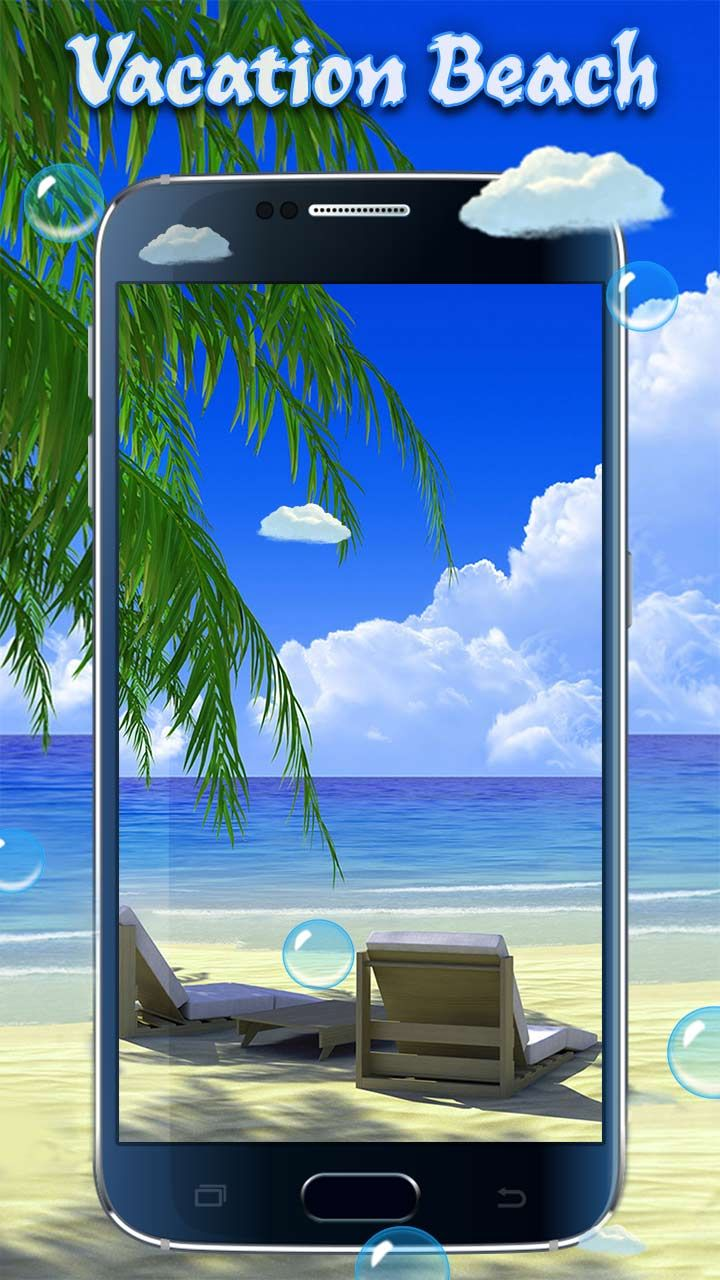 Free Vacation Beach Live Wallpaper For All Of You Who Truly Enjoy Summer And Exotic Holiday Destinations With Wonderful HD Image Get It Now LINK