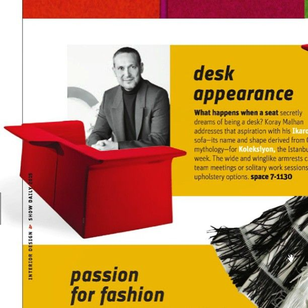 We are featured again in Show Daily 3 at #NeoCon13, check out page 4 and then come see us on Floor 7, booth 1130 #REworkYourOffice http://bit.ly/NeoConDaily3