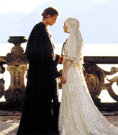 Wedding Dress Inspiration – Star Wars | Star wars wedding, Queen ...
