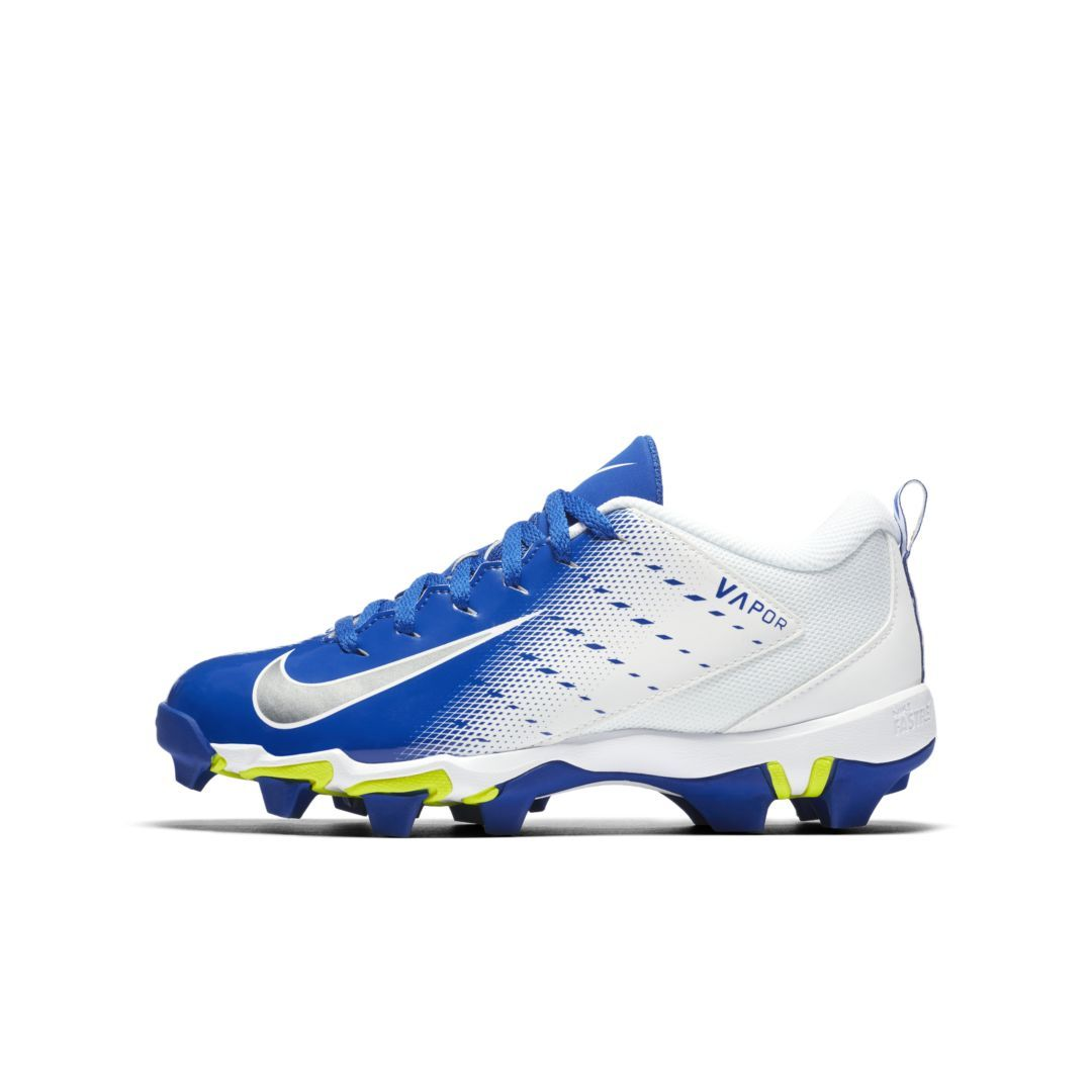 924c30e9c Nike Vapor Shark 3 Little Big Kids  Football Cleat Size 5.5Y (White)