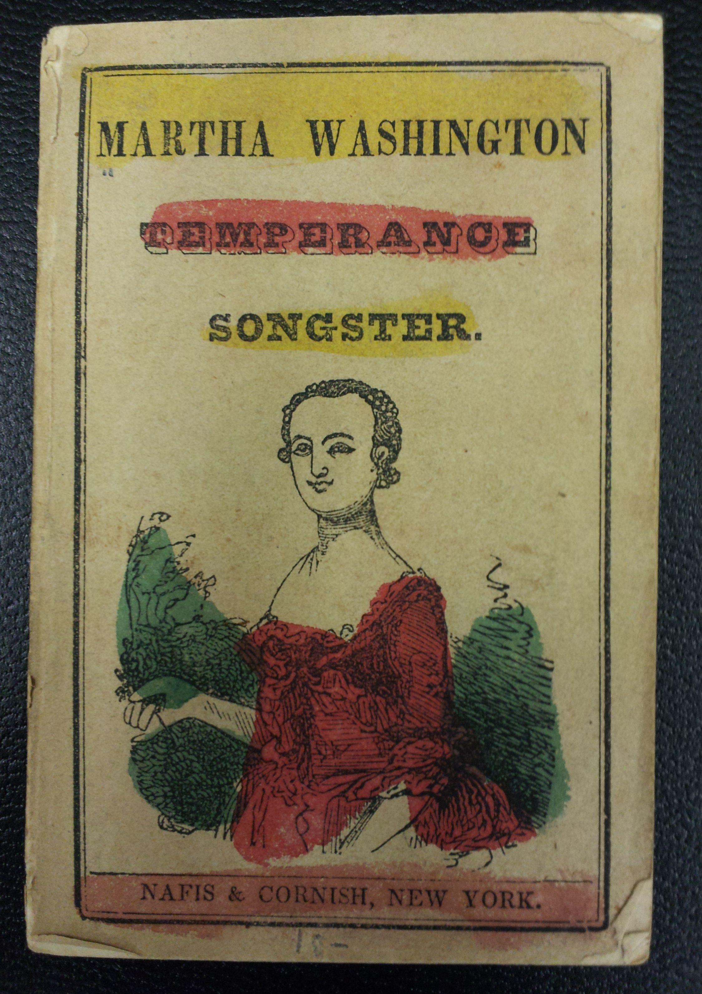 Martha Washington Temperance Songster