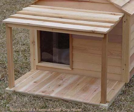 Cedar Dog House For Large Dogs Air Conditioned Insulated Wooden Doghouse Duplex And Outdoor Cats House Dog Houses Dog House Outdoor Cat House