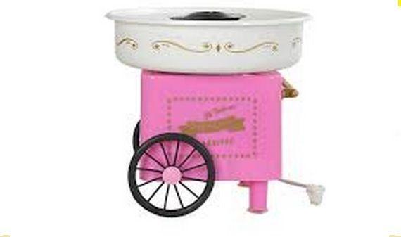 كرنفال الة صنع حلوى غزل البنات وردي Cotton Candy Machine Candy Machine Cotton Candy