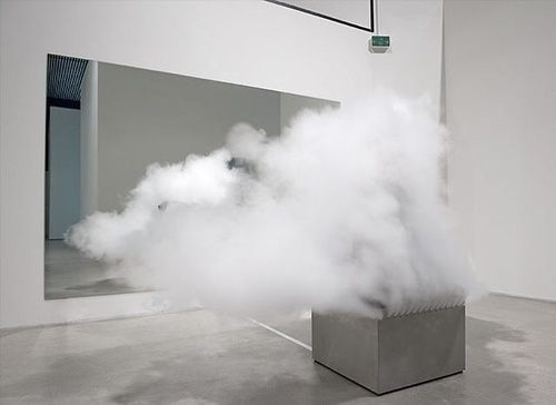 Jeppe Hein, Smoking bench, 2003