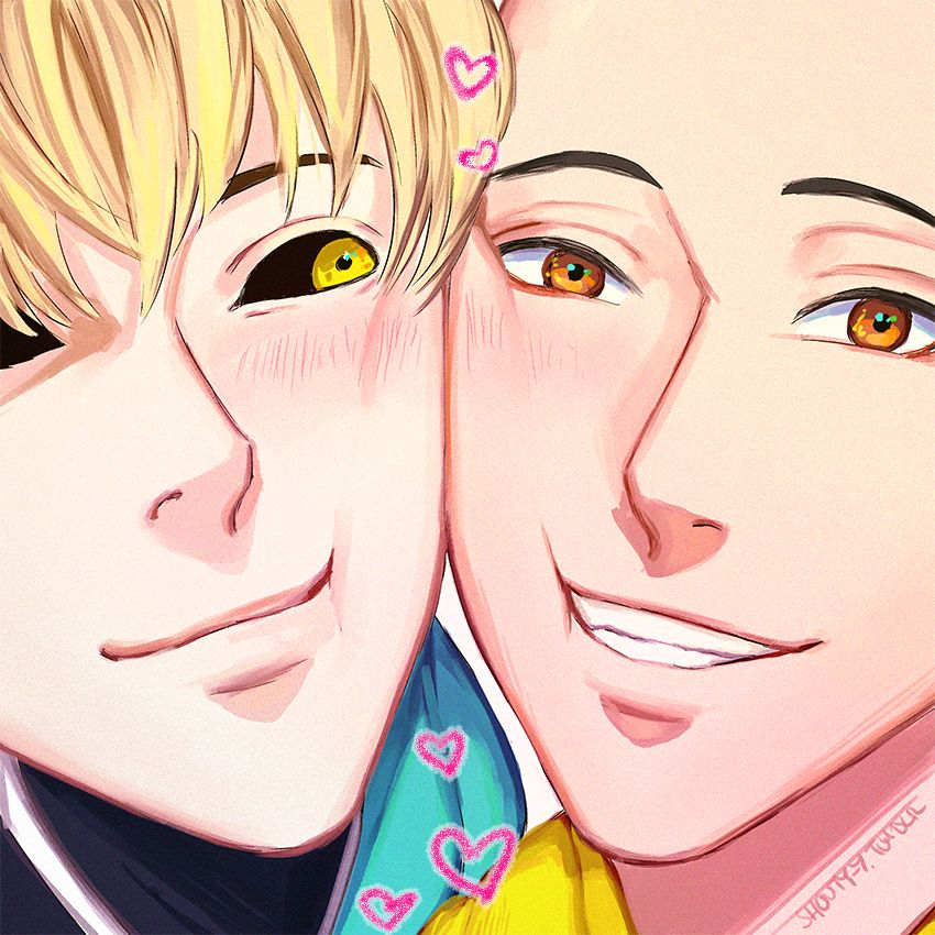 """shoutyy """"💙 squishy cheeks 💛 """" (With images) One punch"""