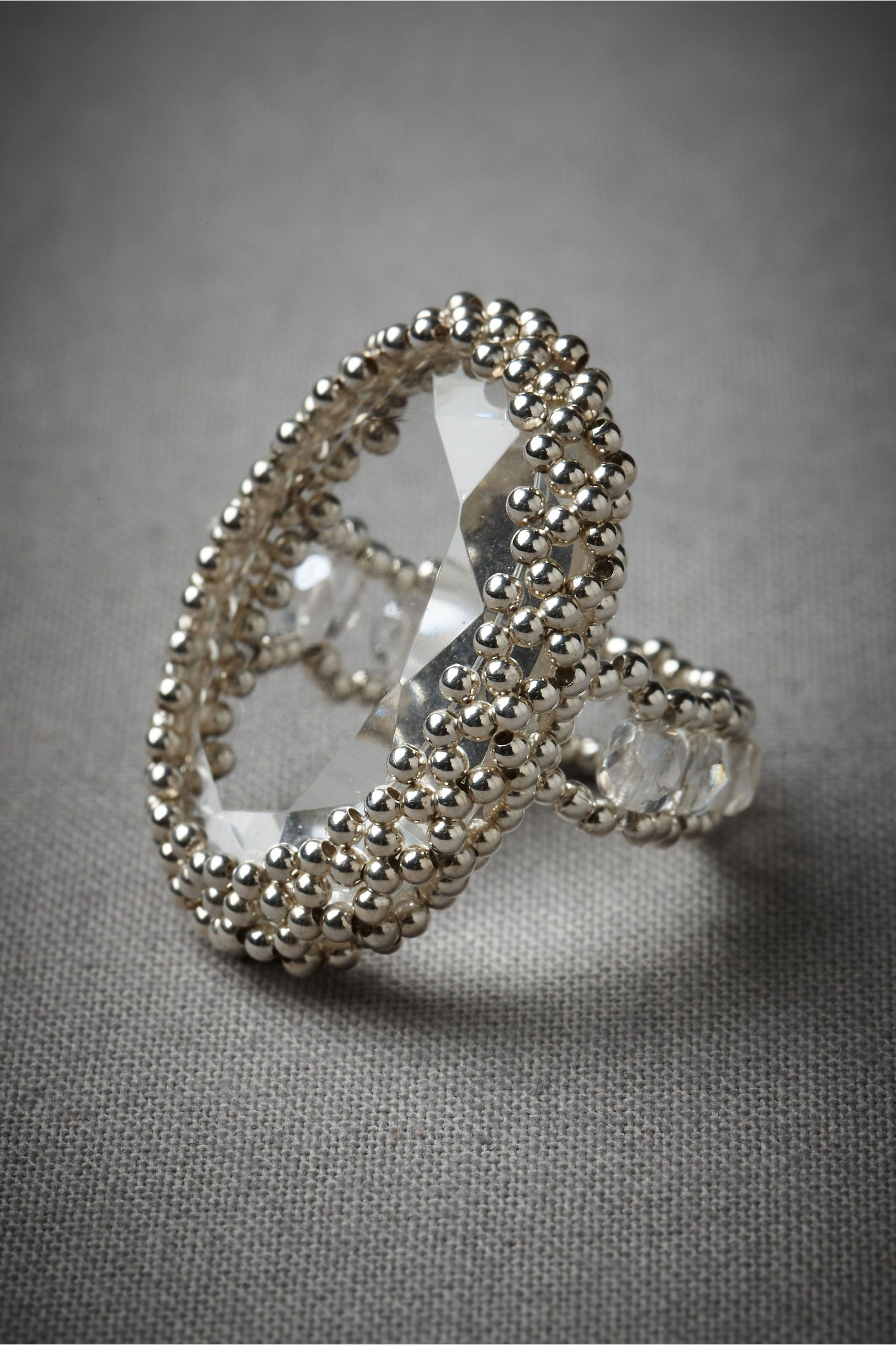 Magnetic Attraction Ring in SHOP Shoes & Accessories Jewelry Rings at BHLDN