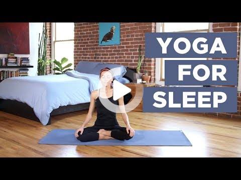 yoga for sleep  practice this 30minute bedtime yoga