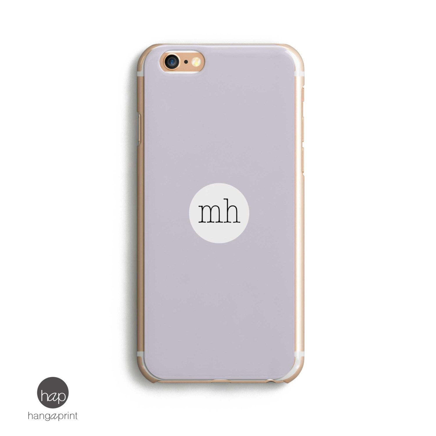 new product ba4b9 79014 Monogram Initial iPhone 5, Initial Name iPhone, Hard Clear Iphone 6s ...