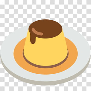 Creme Caramel Custard Food Emoji Natillas Emoji Transparent Background Png Clipart Creme Caramel Caramel Creme Brulee Chocolate Ice Cream Milkshake