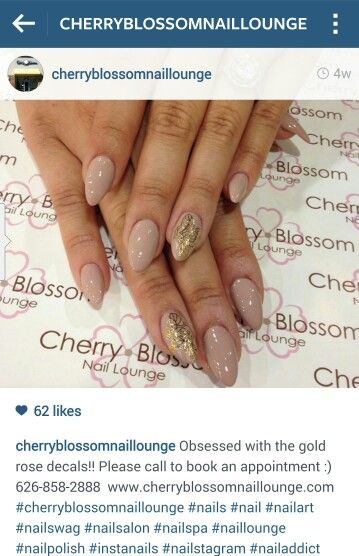 Cherry Blossom Nail Lounge West Covina Ca 91791 Cherryblossomnaillounge Com Cherry Blossom Nails Nails Swag Nails