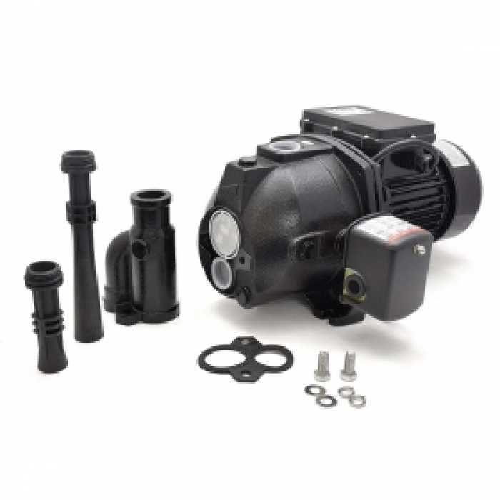 Deep Well Jet Pump W Pressure Switch 1 2hp 115 230v Cast Iron Jet Pump Well Jet Pump Shallow Well Jet Pump