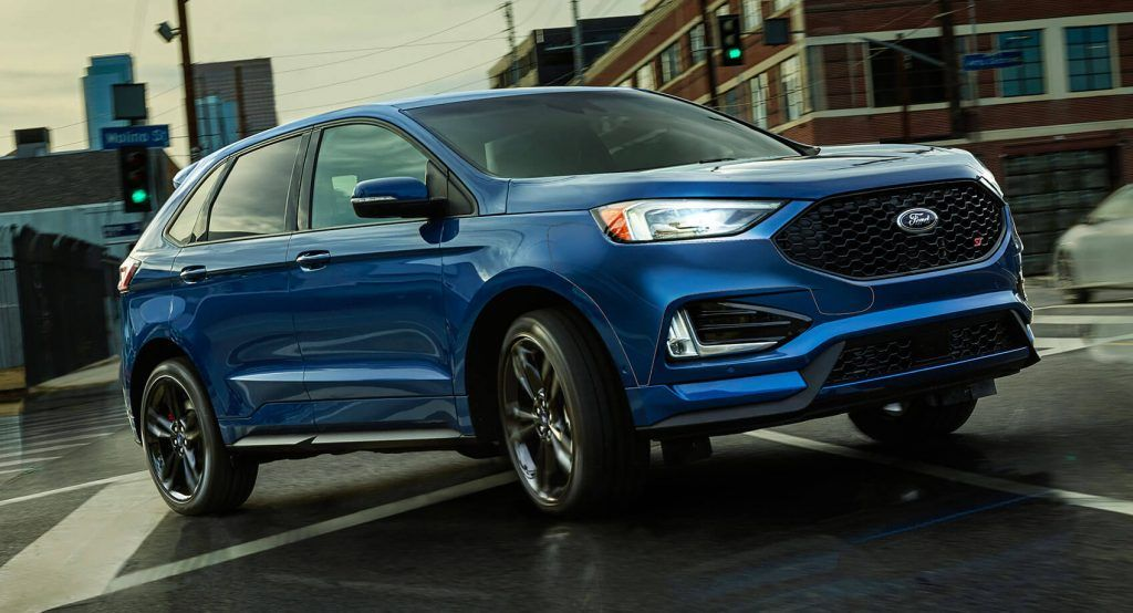 2019 Ford Edge Edge St Gain Ai Awd For Better Grip And Fuel Economy Ford Edge 2019 Ford Awd