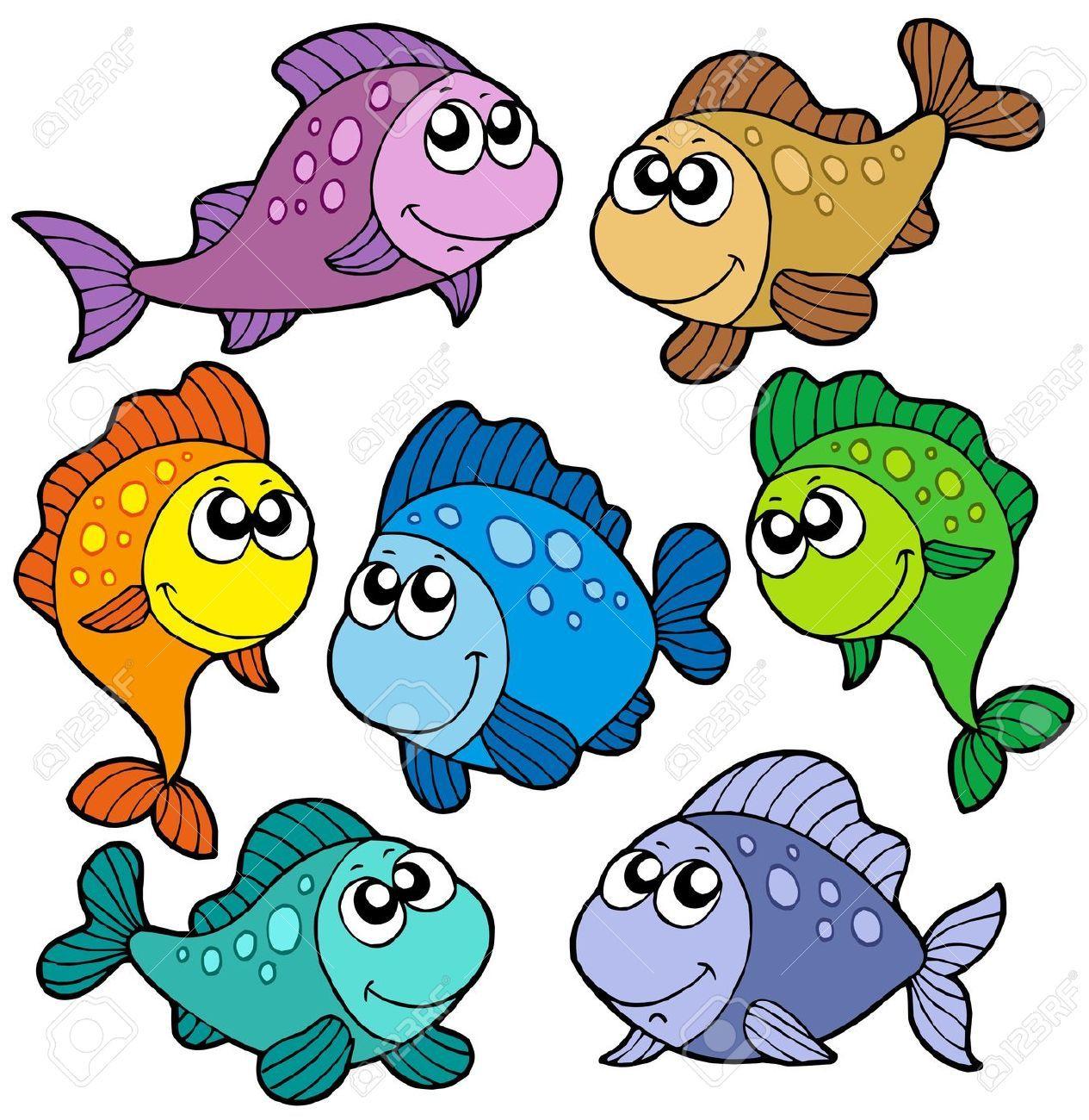 dibujos animados de peces y animales marinos  Buscar con Google