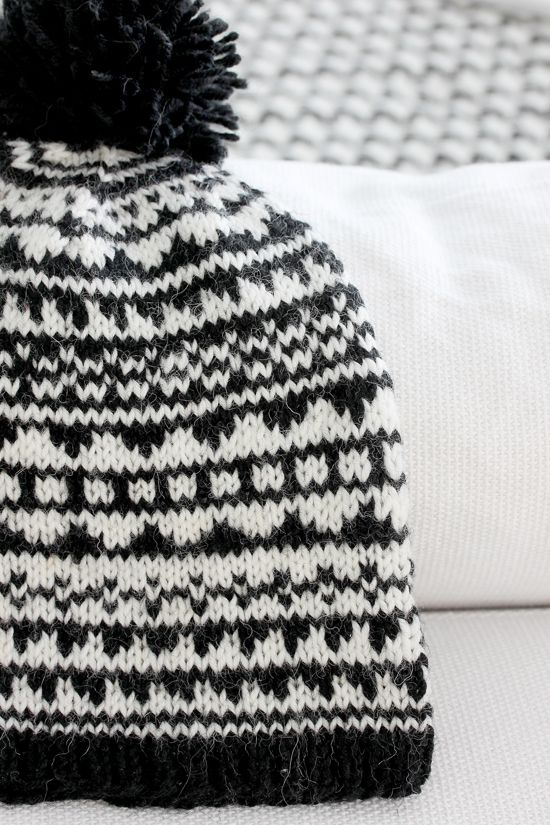 Black And White Aztec Hat Tutorial In Finnish And In English No