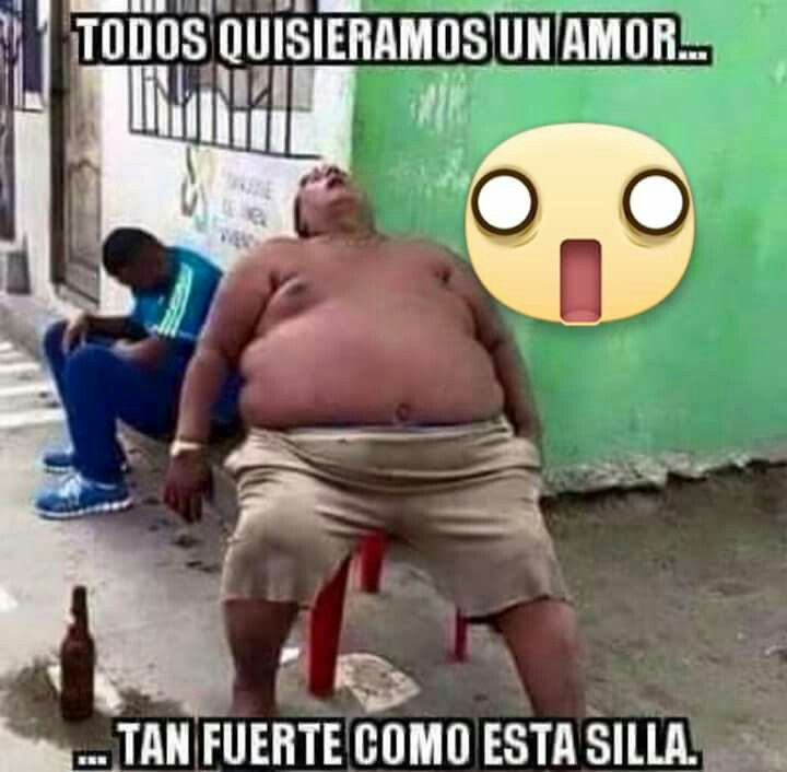 Amor Silla Gordito Memes Feelings Humor Boyfriend Humor