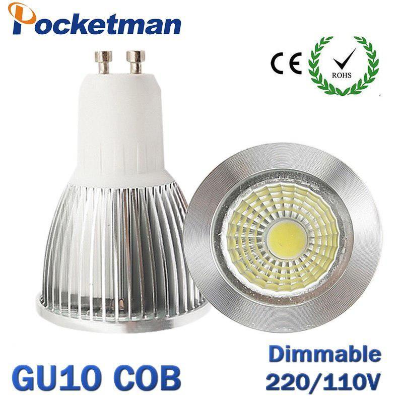 Super Bright Gu10 Bulb Light Dimmable Led Ceiling Light Warm White 85 265v 7w 10w 15w Gu10 Cob Led Lamp Gu10 Led Spotlight Zk62 Dimmable Led Ceiling Lights Ceiling Lights Light Bulb
