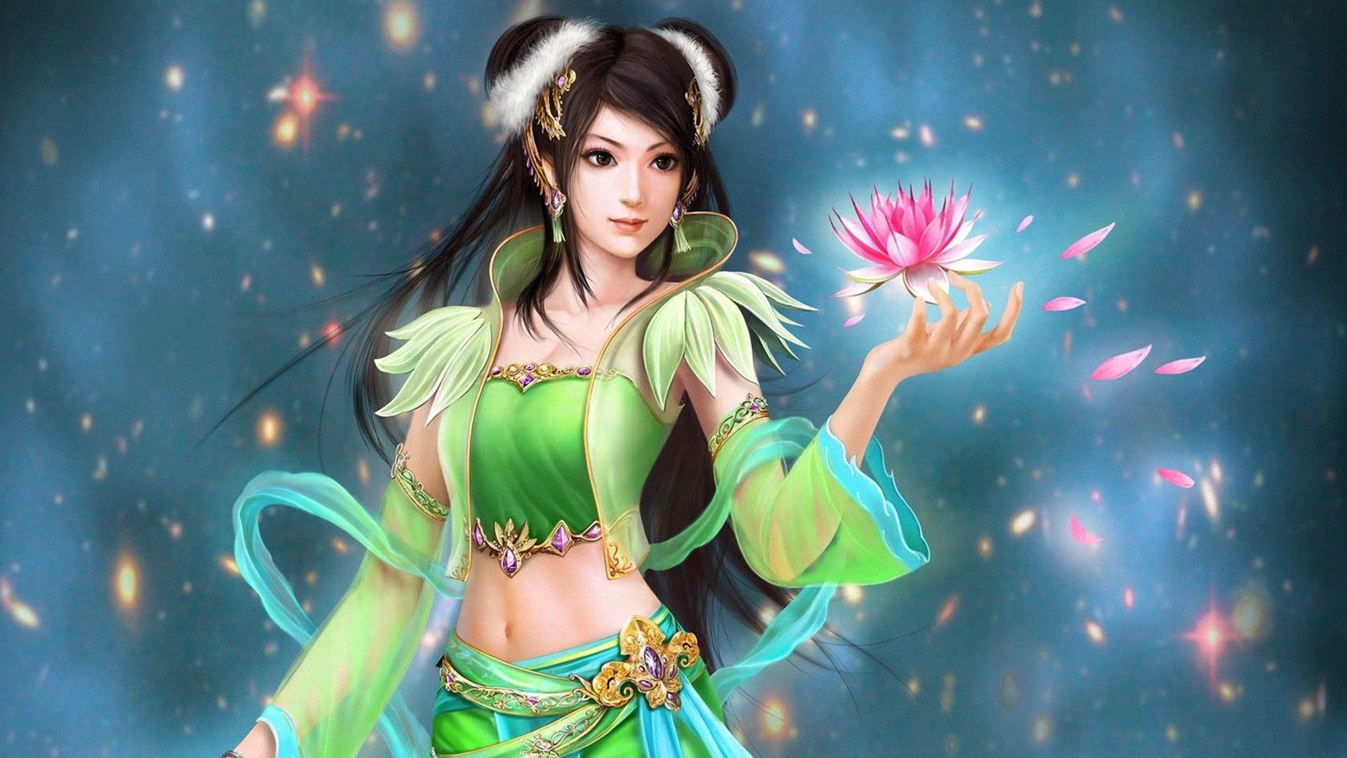 3d Fantasy Girl Fantasy Girl Fantasy Paintings Fantasy Art