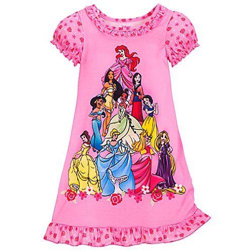 Disney Pijamas para ni/ñas Princesas