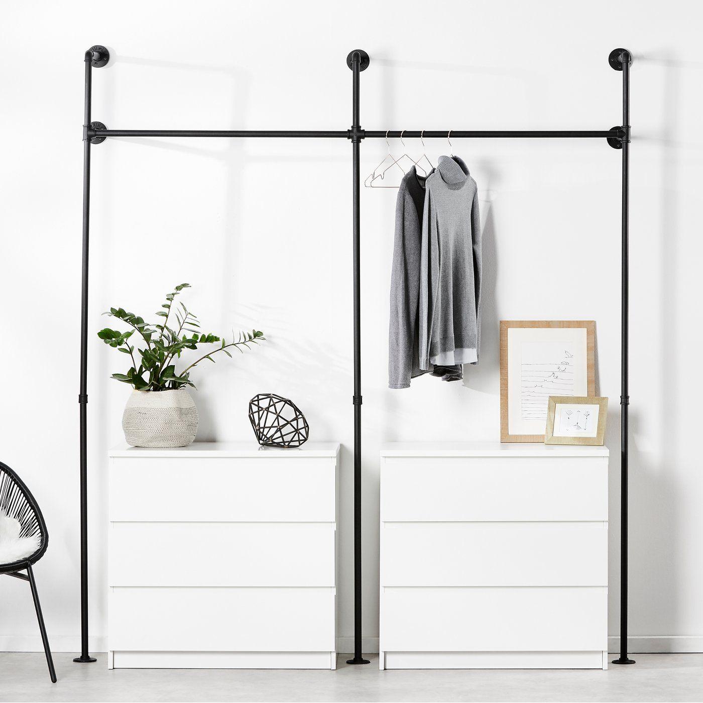Kleiderstange Kim Ii Kleiderstange Kim Ii Pamo Design So Planen Sie Einen Praktischen In 2020 Kleiderschrank Selber Bauen Ankleidezimmer Selber Bauen Kleiderstange