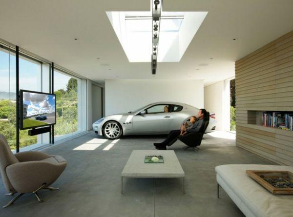 Lovely Die Auto Garage Anordnen Einrichtung Tipps Wohnzimmer