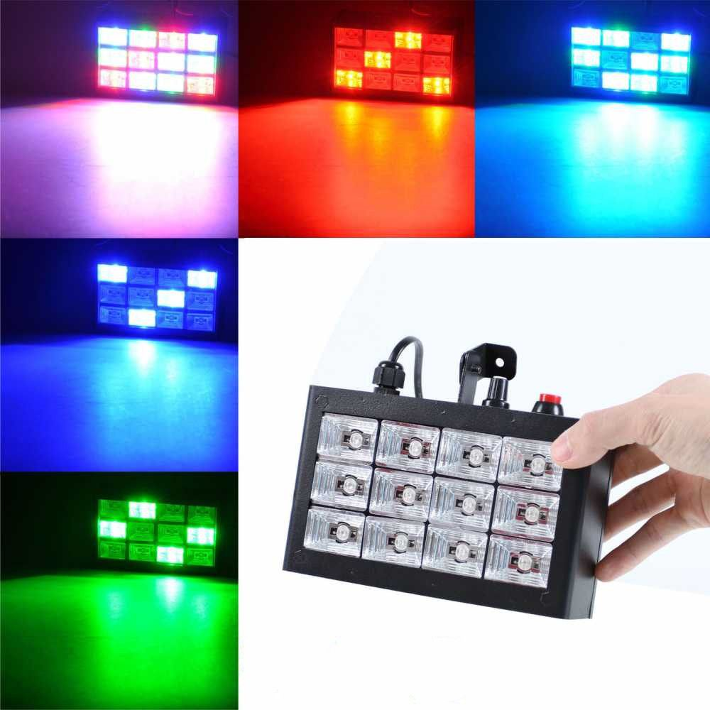 Fumat stage lighting 35w 12pcs led disco laser lights sound fumat stage lighting 35w 12pcs led disco laser lights sound control ktv bar auto run flash aloadofball Image collections