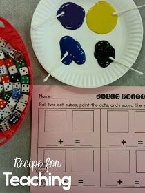Recipe for Teaching: Q-tip Painting with a FREEBIE