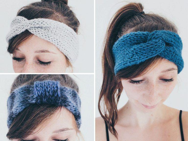 Photo of DIY Stirnband stricken – Anleitung für 3 verschiedene Stirnbänder • Yeah Handmade