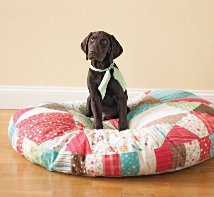 Free Pet Bed Patterns   AllPeopleQuilt.com   Fabric Crafts: Various ...