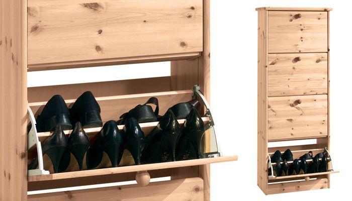 Shoe Cabinet 61x 27 Meuble Chaussure Meuble En Pin Massif Meuble En Pin