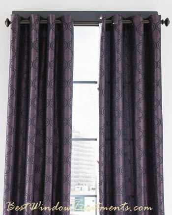 Penrose Faux Silk Curtain Drapery Panels Bestwindowtreatments