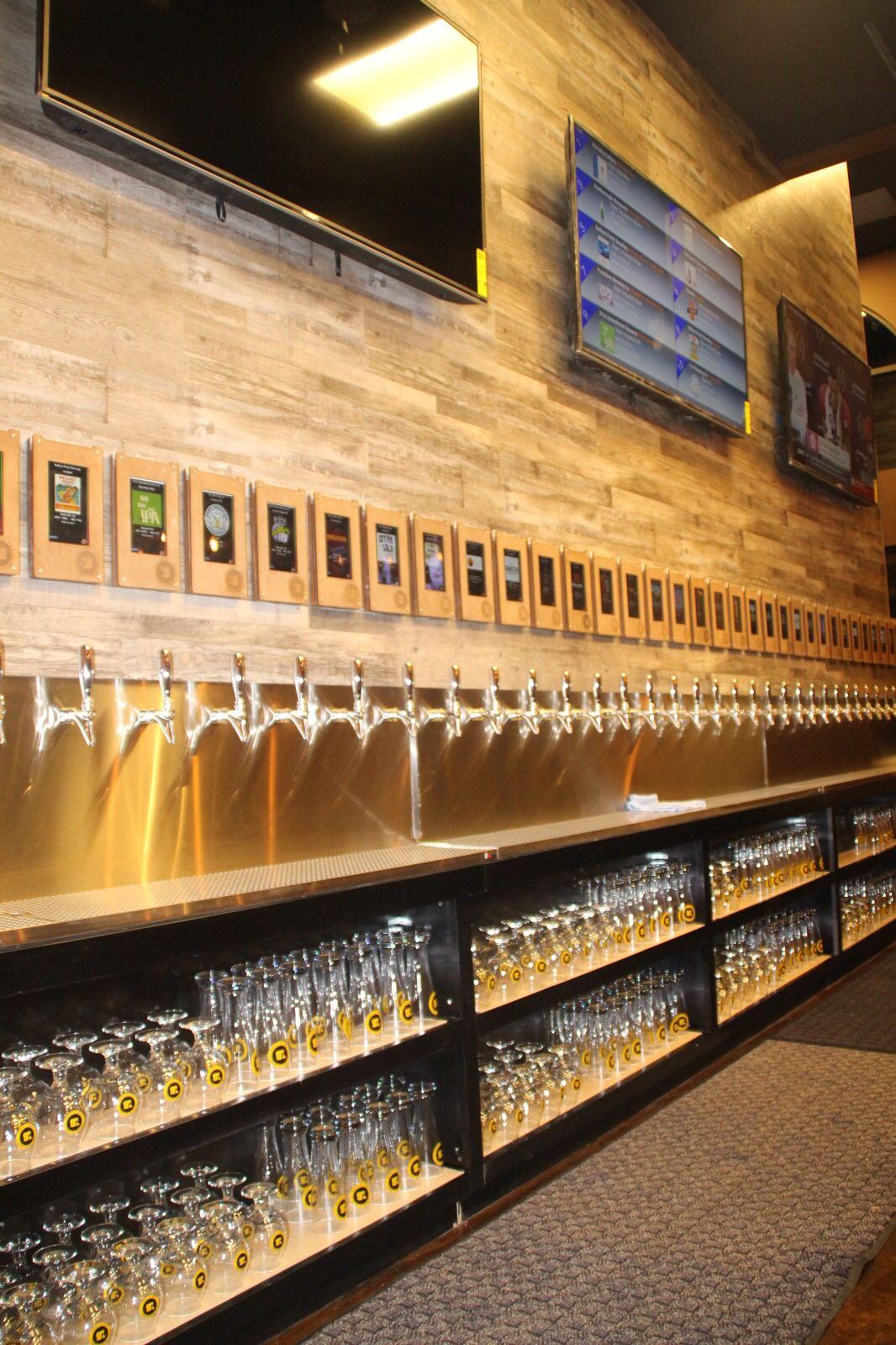 Thirsty Bay Tap N Pour Beer Bar Ideas Beer Bar Design Beer Bar