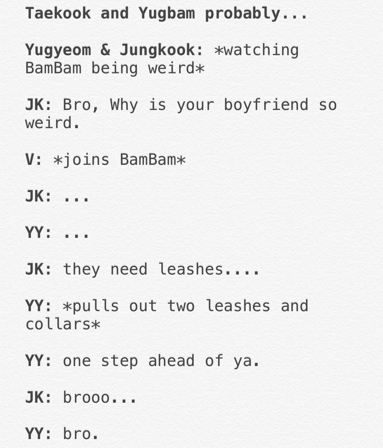 taekook #vkook #yugbam #bamyeom #got7 #bts #bangtanboys | BTS in