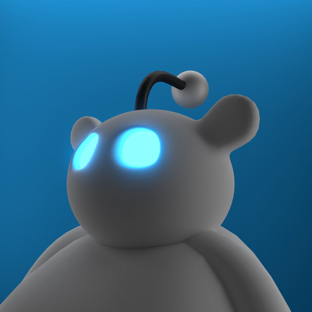 I made this in blender3d in 2020 Lamp, Novelty lamp