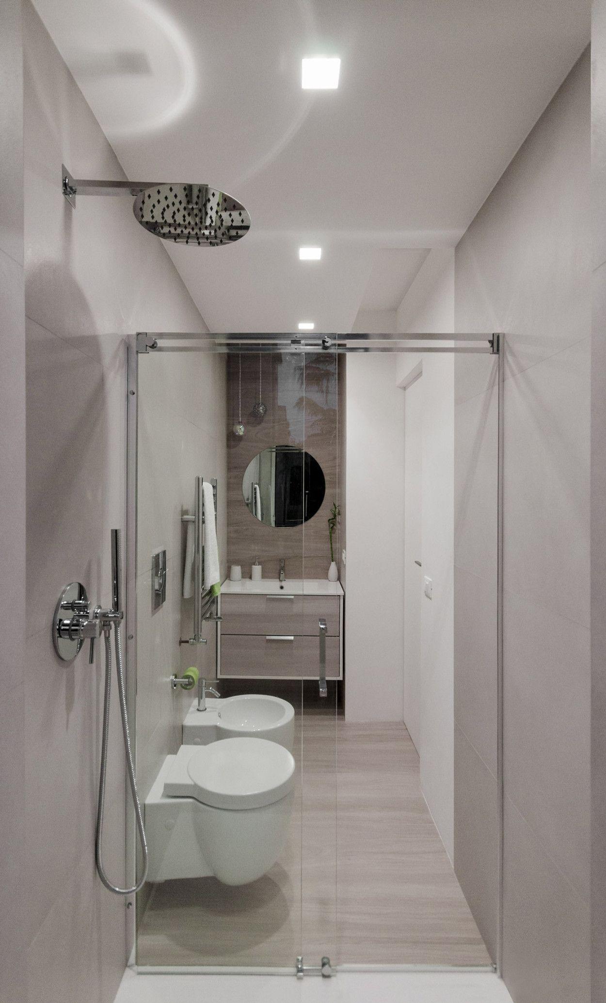Ristrutturare Bagno Piccolo.Minima Architettura Roma Bagno Design