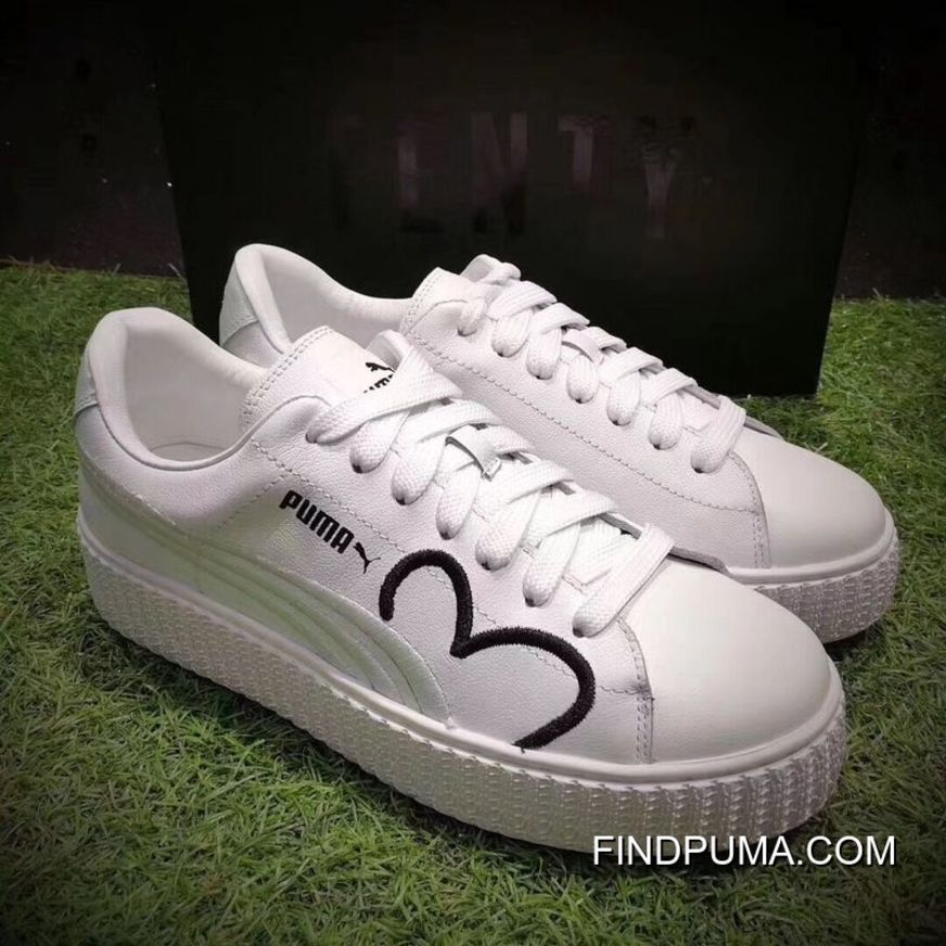 Puma Fenty CLF Creeper Women White Shoes Best