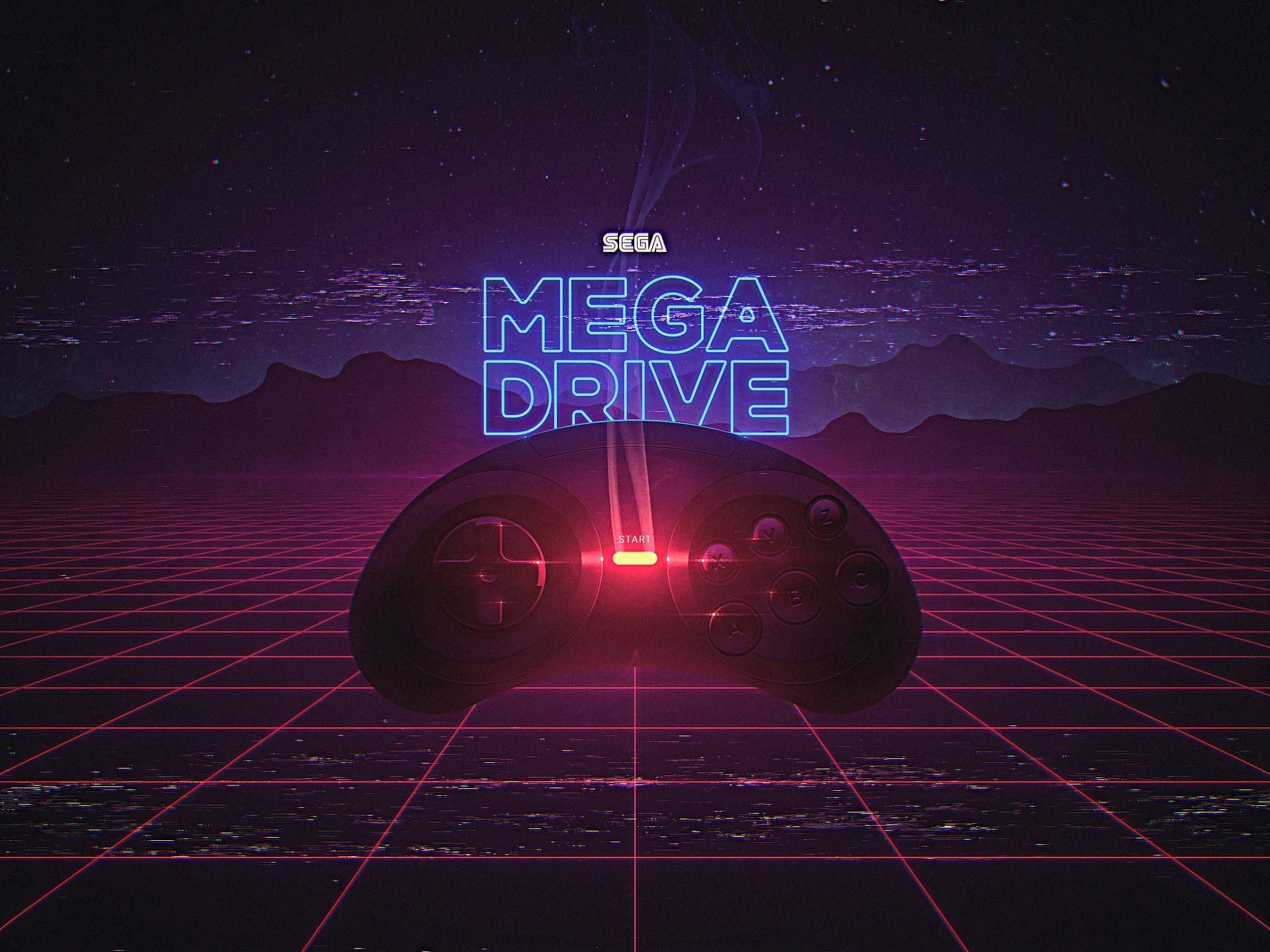 Artstation Sega Mega Drive Slava Yakovlev Sega Mega Drive Sega Digital Wallpaper