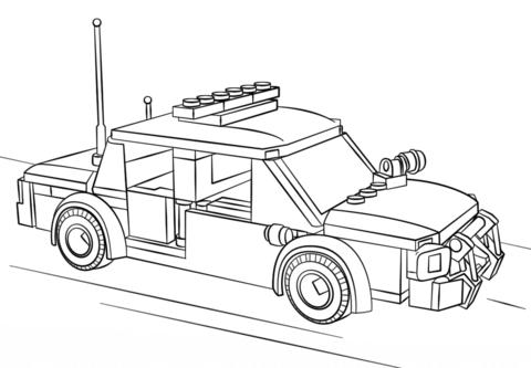 Lego Polizei Auto Ausmalbild 89 Malvorlage Polizei Ausmalbilder