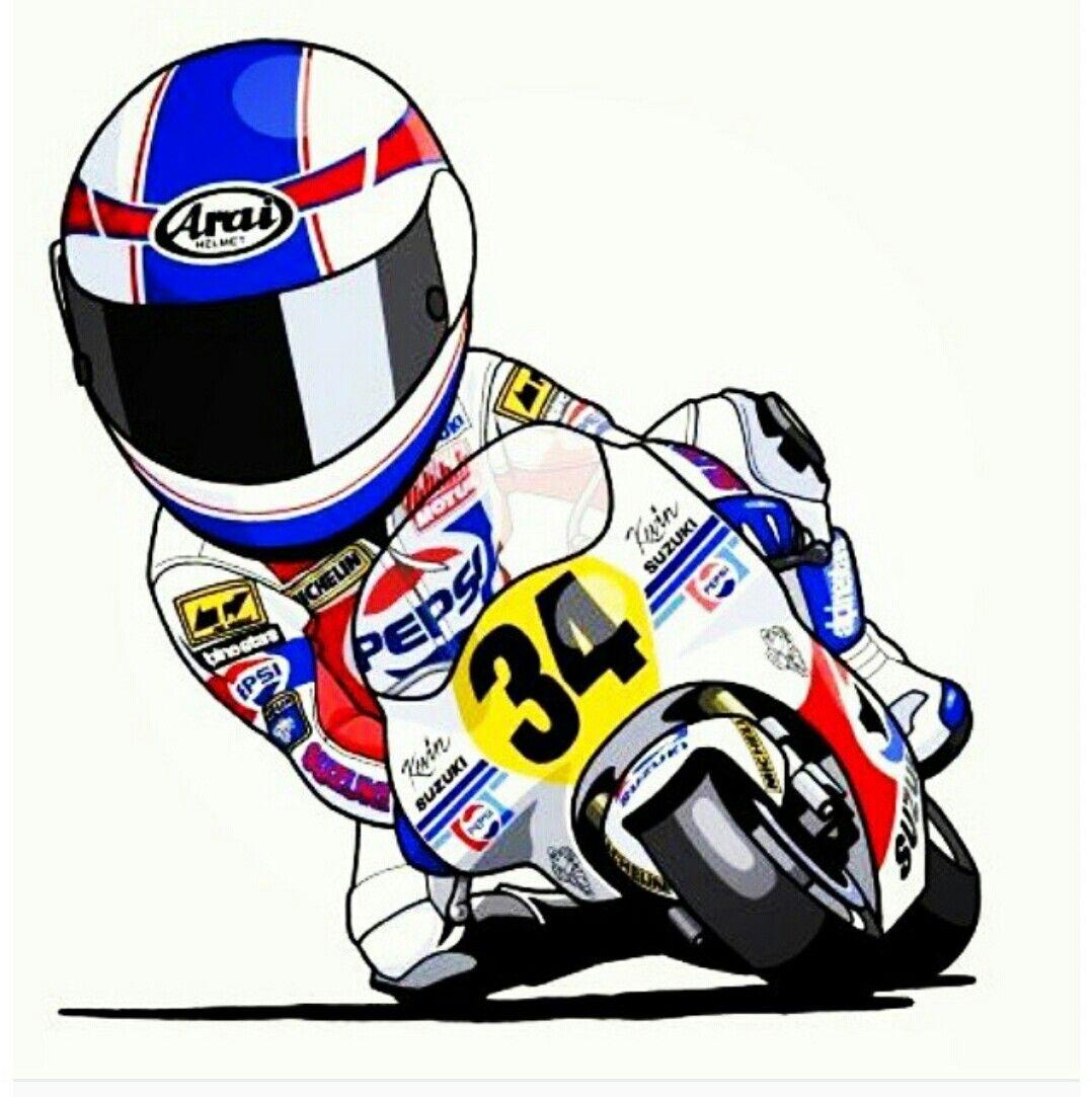 Big bike sticker design - Kevin S 34 Bike Illustraitonbig