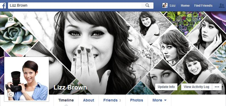 Excelente referência - 23 Free Facebook Cover Photoshop Templates & Timeline Photo Collage Templates for Photographers