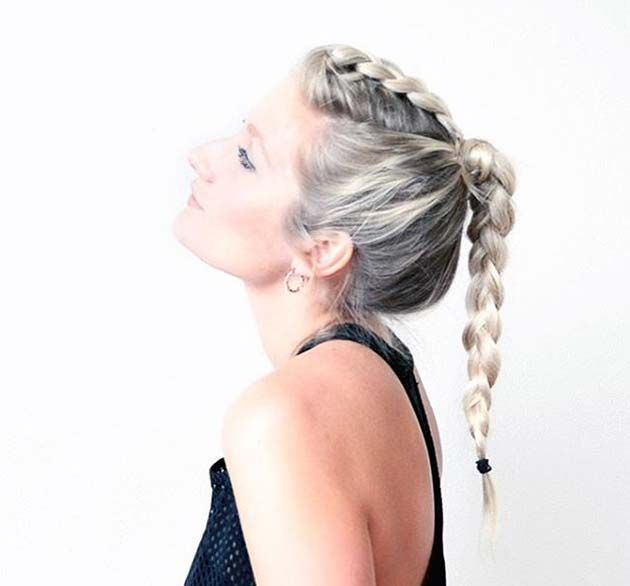 Top 40 Best Sporty Hairstyles For Workout Hairstyles Pinterest
