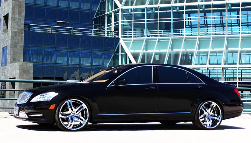Lexani Ls 715 On The 2013 Mercedes Benz S550 With Images