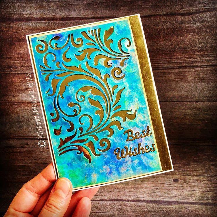 Birthday card for a crafty friend artistic