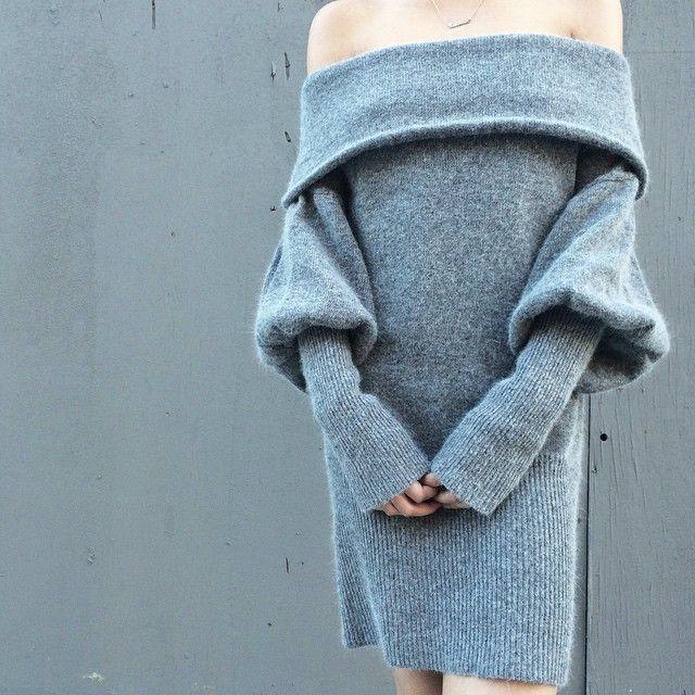 Off the shoulder dress #pixiemarket